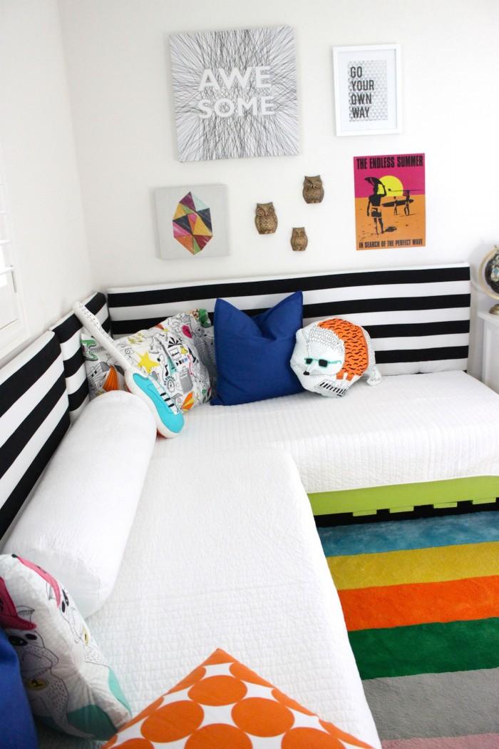 DIY Boy's Pallet Bedroom Refresh