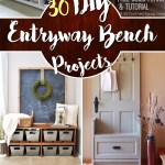 The Best 30 Diy Entryway Bench Projects Cute Diy Projects