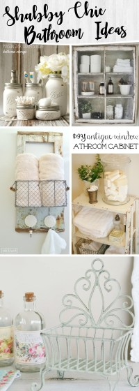 15 Shabby Chic Bathroom Ideas Transforming Your Space From ...