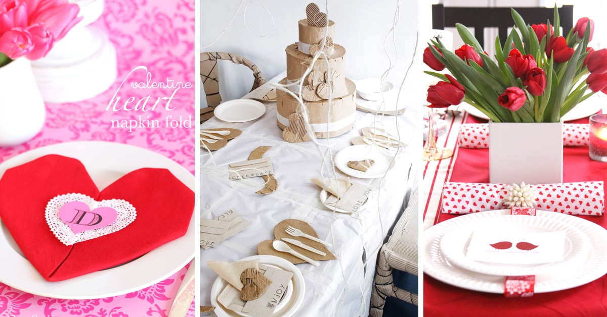 20 Utmost Beautiful Valentines Day Table Settings To