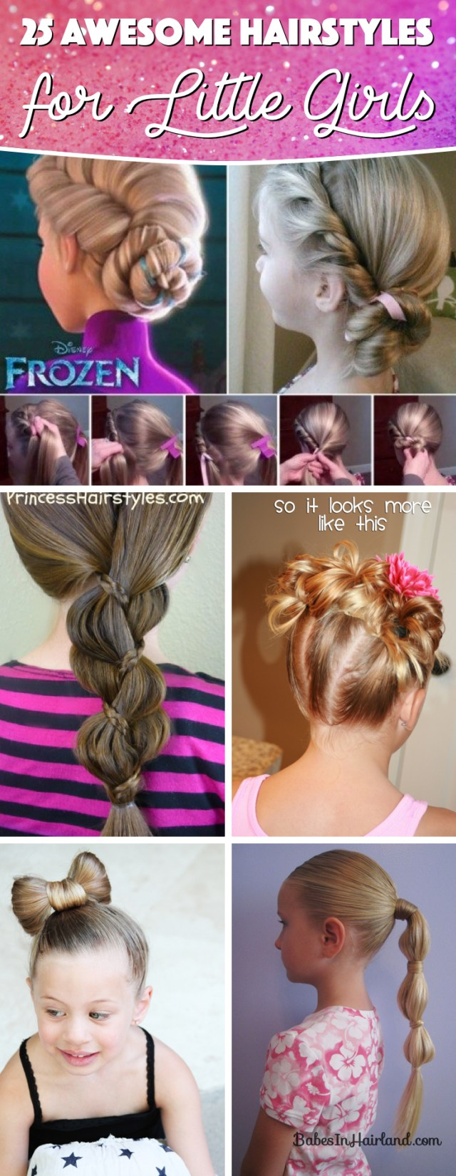 25 awesome hairstyles for little girls making them look