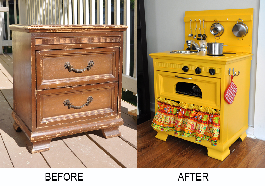 kid kitchens gray wash kitchen cabinets 25 diy play ideas apt and appropriate for your little one s