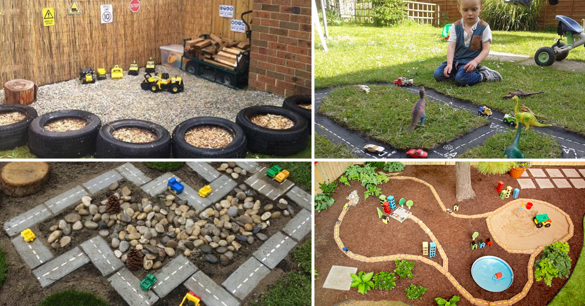 25 outdoor play areas