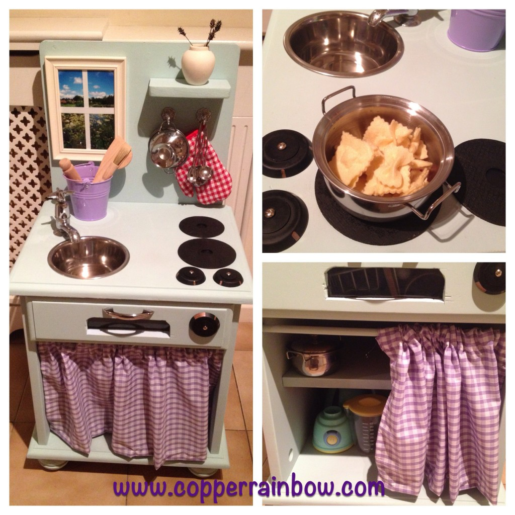 Play Kitchen Makeover On A Budget