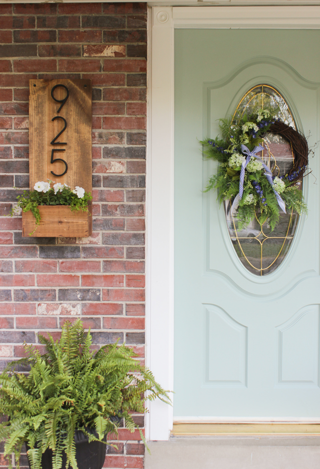 20 Awe Inspiring DIY House Number Ideas Displaying Your Address