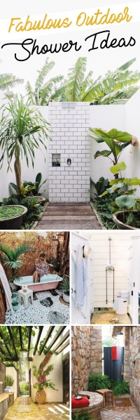 15 Fabulous Outdoor Shower Ideas Letting You Cherish a ...