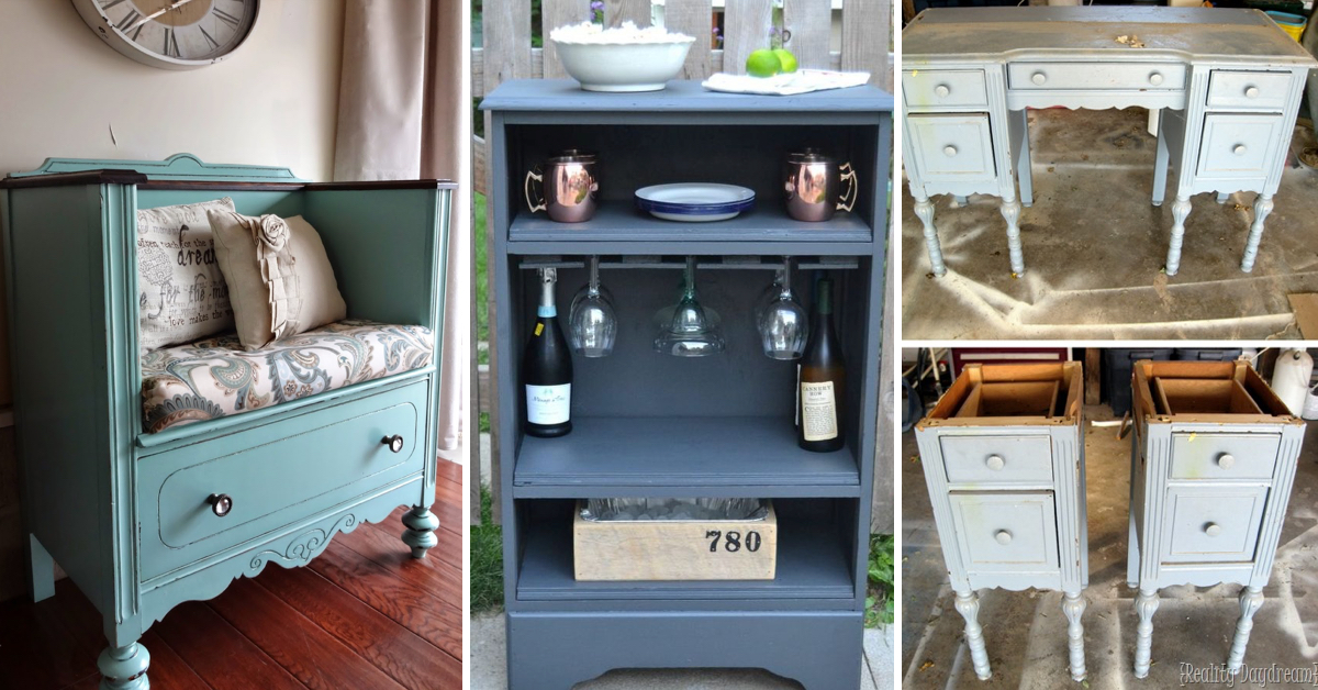 20 upcycled furniture ideas