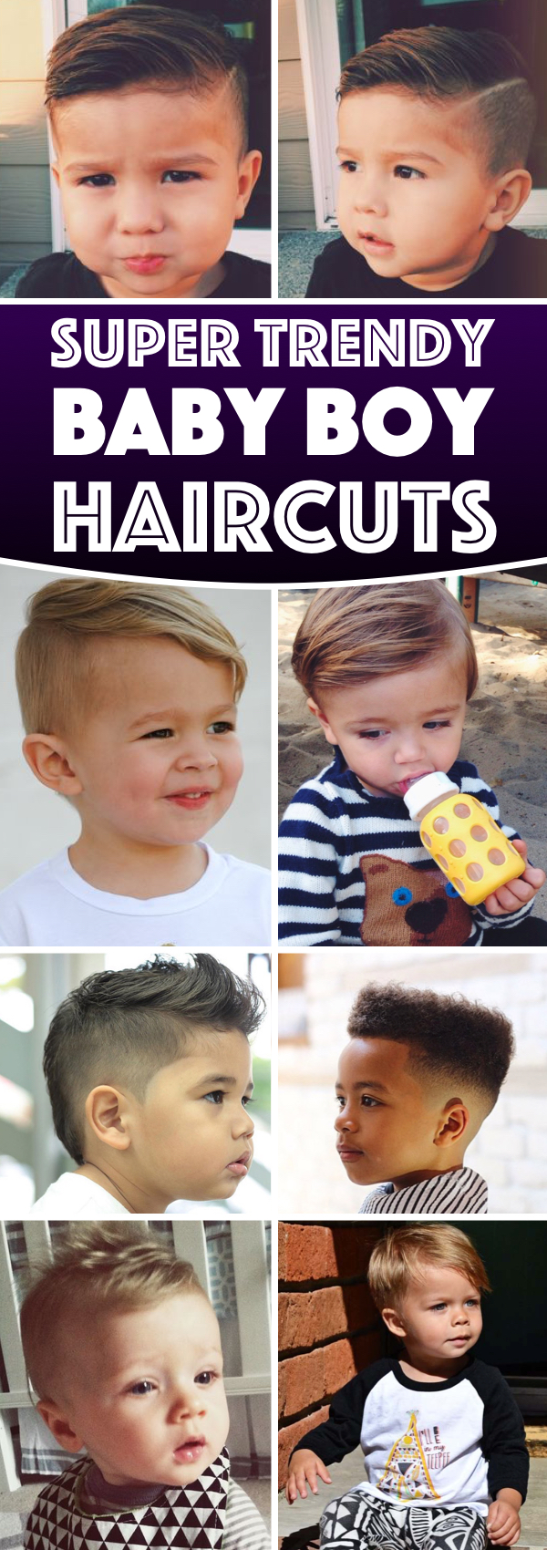 15 super trendy baby boy haircuts charming your little one's