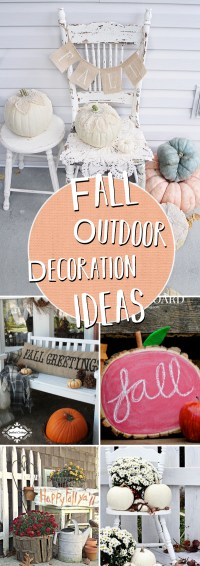 20 Incredible Fall Outdoor Decor Ideas Getting The Home ...