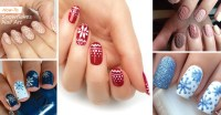 35 Beautiful Winter Nail Designs Shrinking the Season to ...