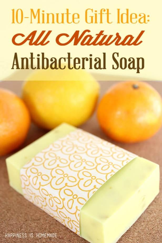 DIY Natural Citrus Antibacterial Soap