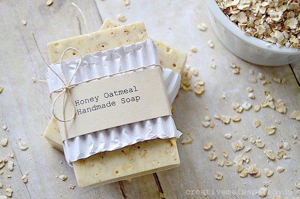 Honey Oatmeal Handmade Soap
