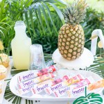 Tropical Bar Cart Ideas To Keep You Cool Cutefetti
