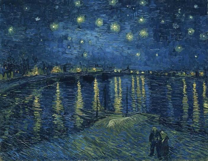 Canvas Prints Van Gogh Wall Art Painting Repro Pictures Home Decor Starry Night