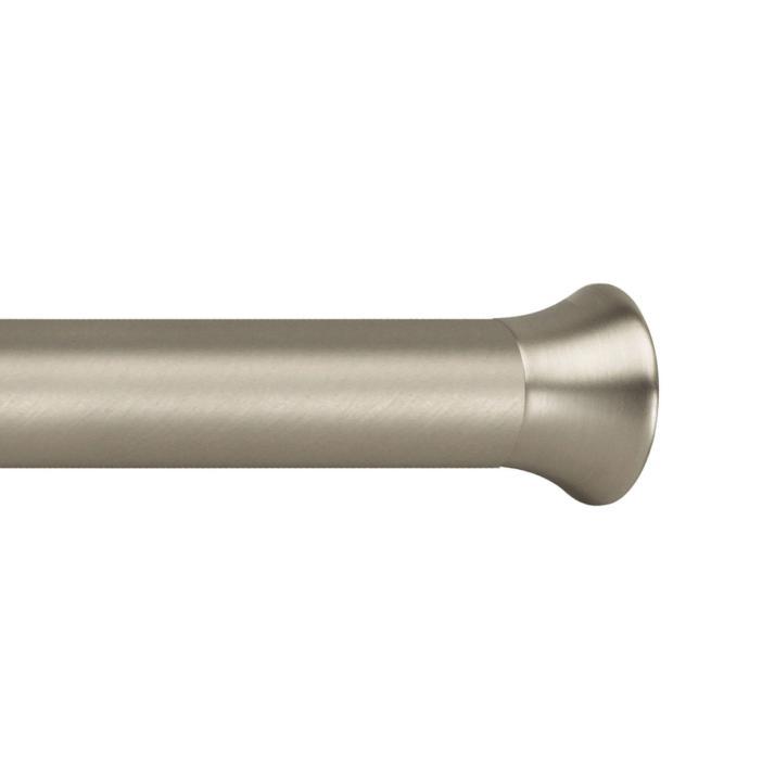 "Deco Tension Rod 7/8"" diameter, 36-54"" length in nickel finish from Umbra"
