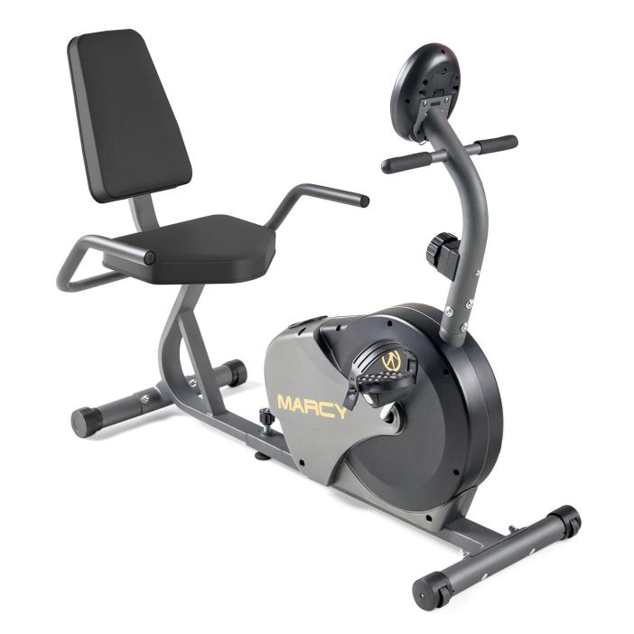 Marcy Recumbent Magnetic Exercise Cycle NS-716R