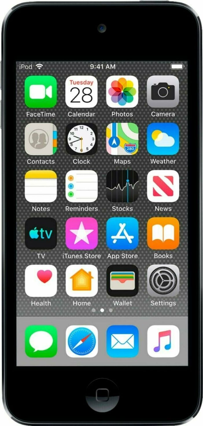 Apple iPod Touch (7th Generation) - Space Gray, 32GB - A2178 - Tested - Bundle