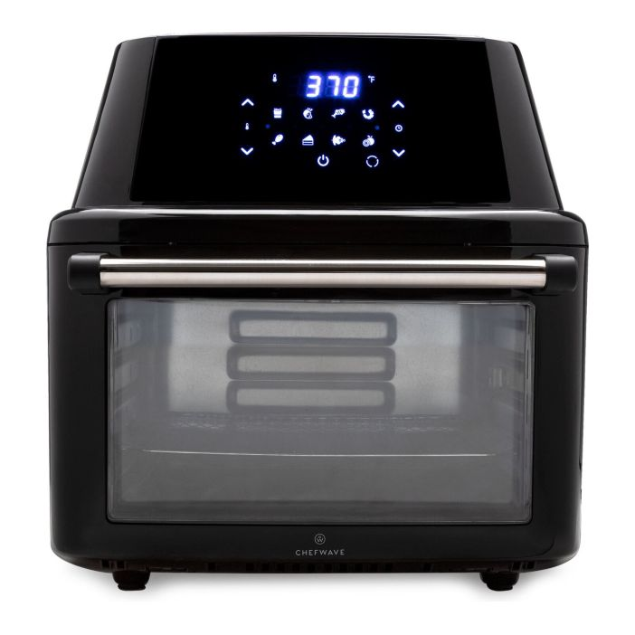 ChefWave Magma 16 Quart Air Fryer Oven Rotisserie Dehydrator and Accessories