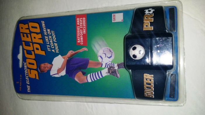 GKM Electronic Soccer Pro Training Device Size Small HTF READ DETAILS