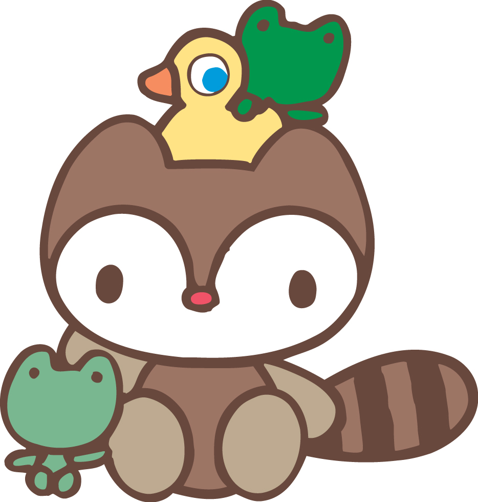 Landry Raccoon Cute Kawaii Resources
