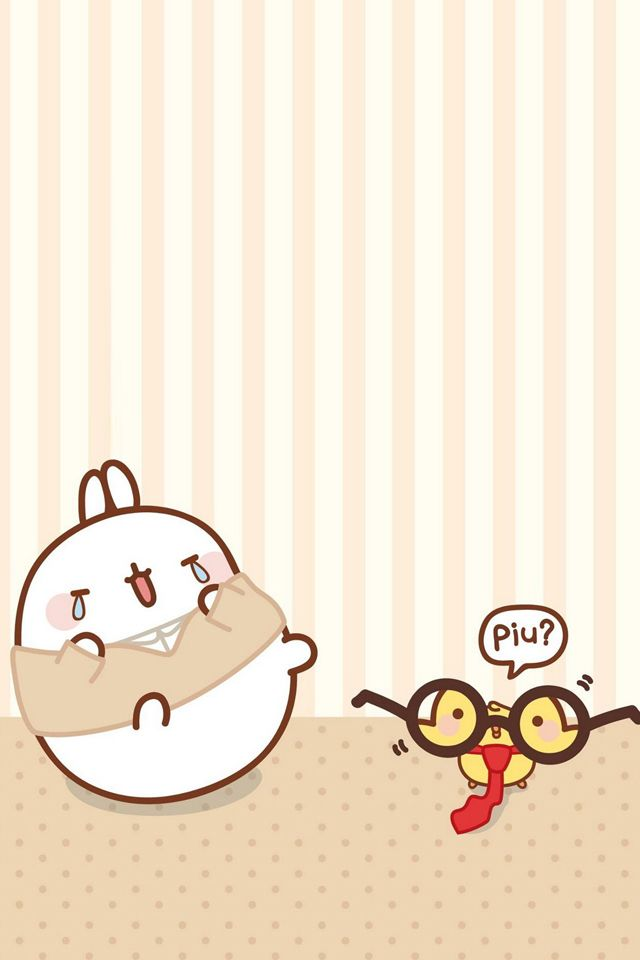 Cute Kitty Wallpapers Apps Molang Mobile Wallpapers Cute Kawaii Resources