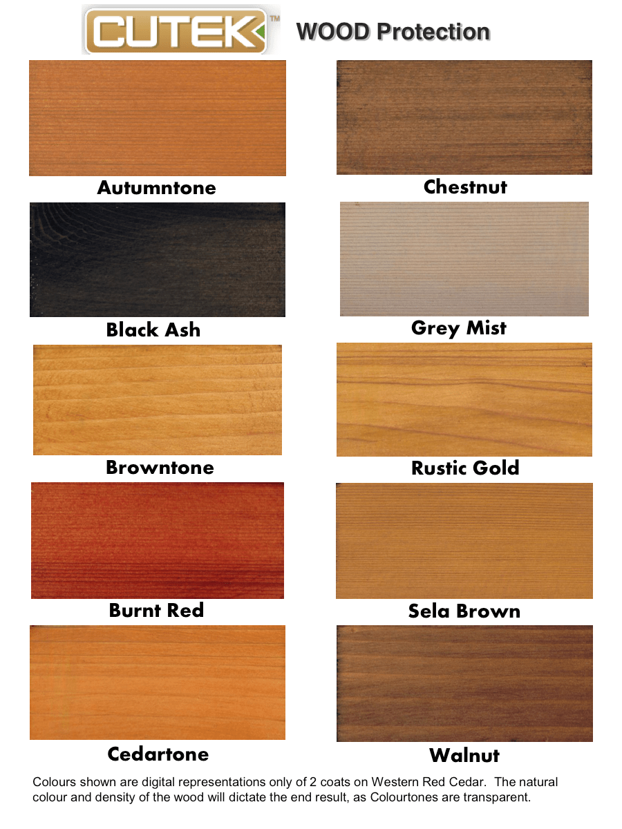 Rustic Wood Stain Colors