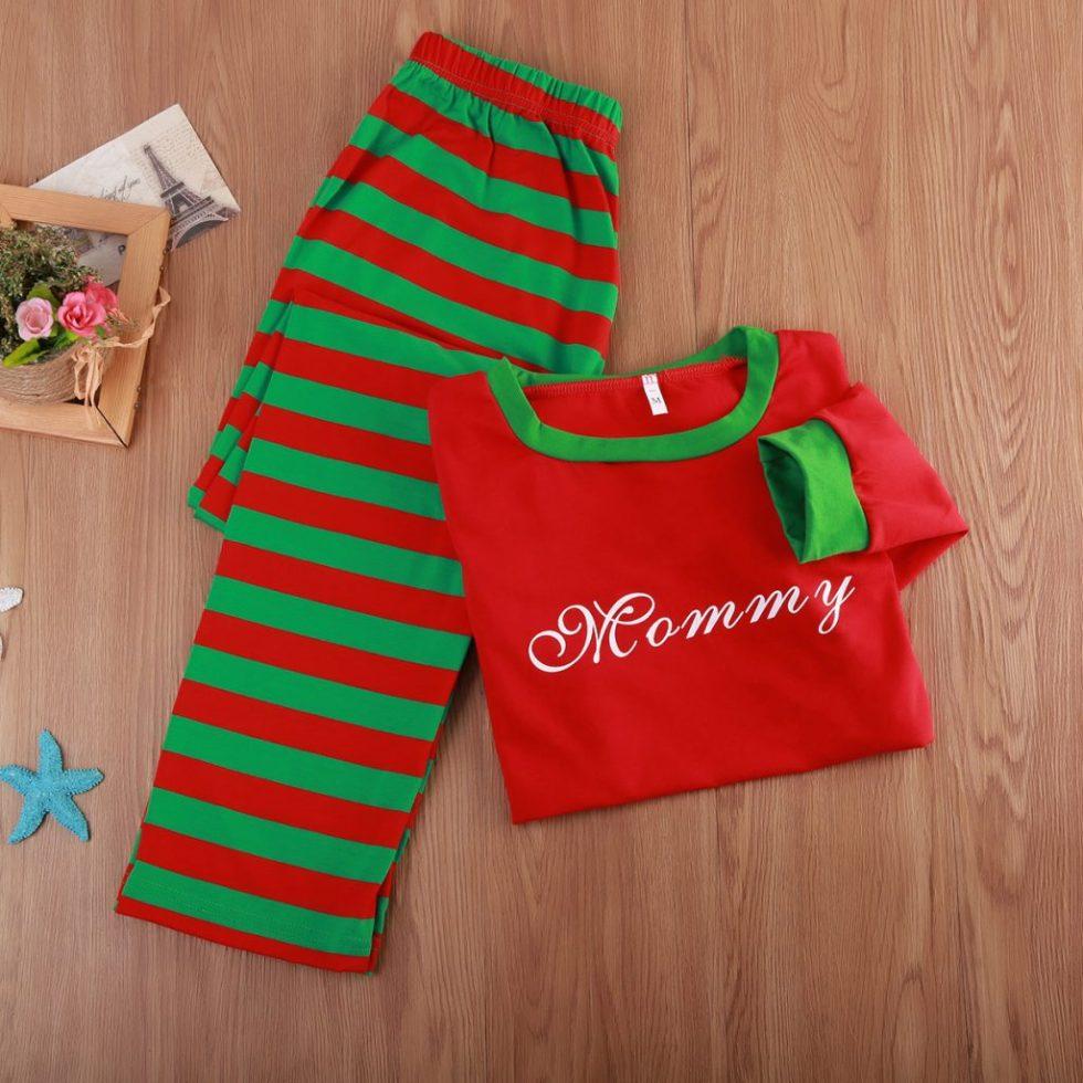 mommy christmas pyjamas