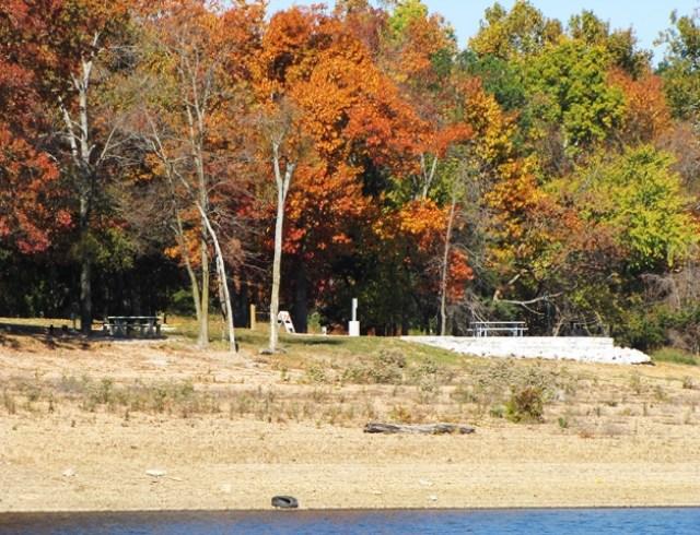 Horseshoe Bend On Beaver Lake AR