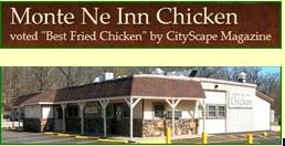 Monte Ne Inn Chicken at Monte Ne Arkansas on beaver Lake... Think Sunday Diner at Grandma's!