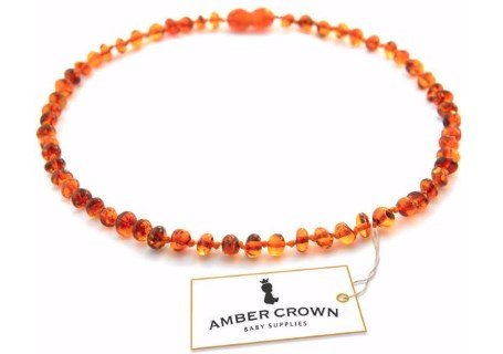 Amber Crown Teething Necklace Review