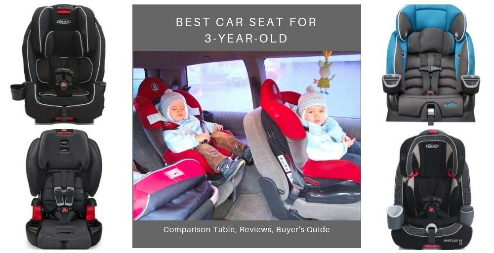 Best Car Seat for 3-Year-Olds
