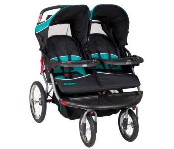 Baby Trend Navigator Double Jogger Stroller Review