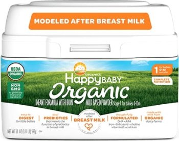 Happy Baby Organic Infant Formula Milk Based Powder Review