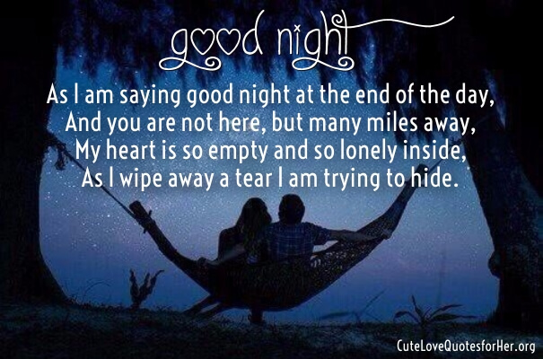 Goodnight Love Poems