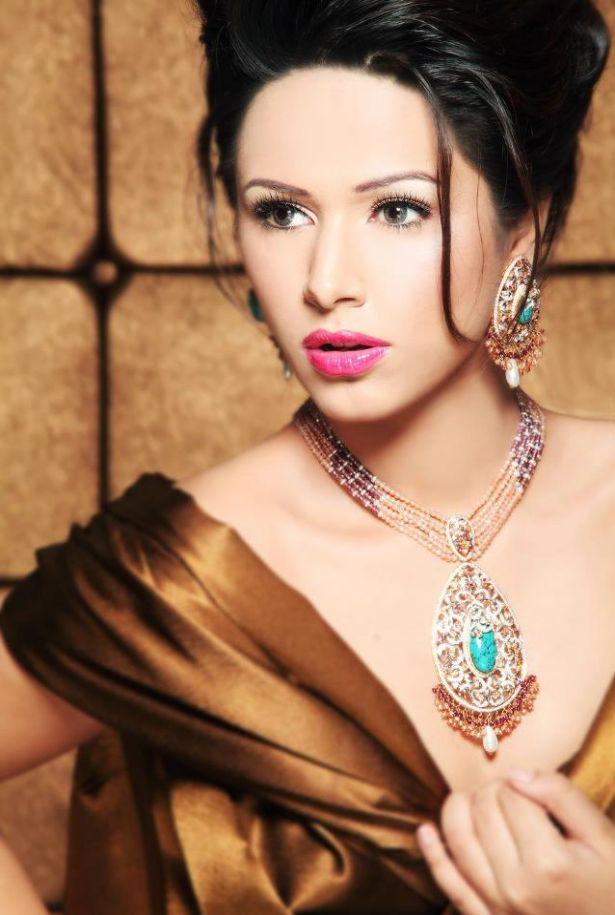 Latest Bridal Jewellery Photoshoot 2013 By Ayyan Ali Cute Outfits Ideas Latest Pak Models