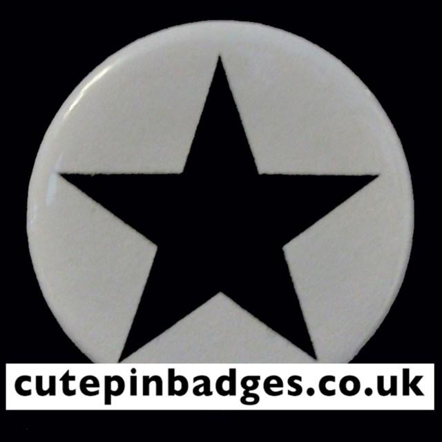 Blackstar David Bowie Badge