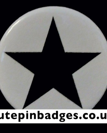 Blackstar David Bowie Badge