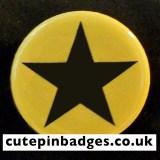 Yellow Star Badge