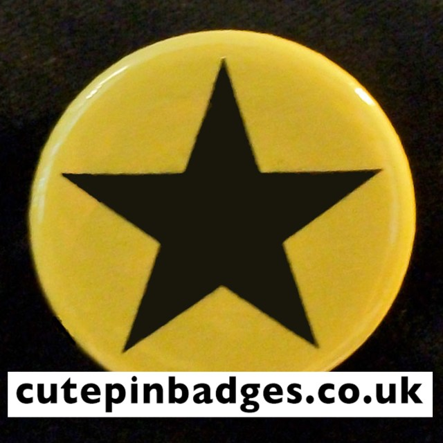 Yellow Star Badge