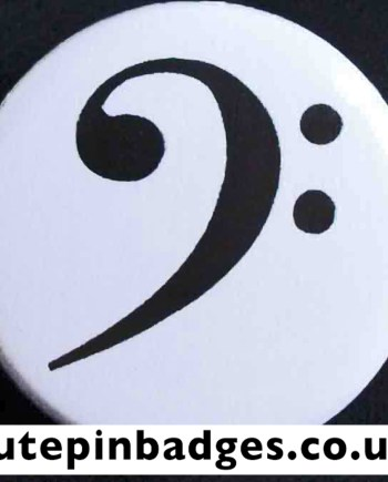 Bass Clef Badge