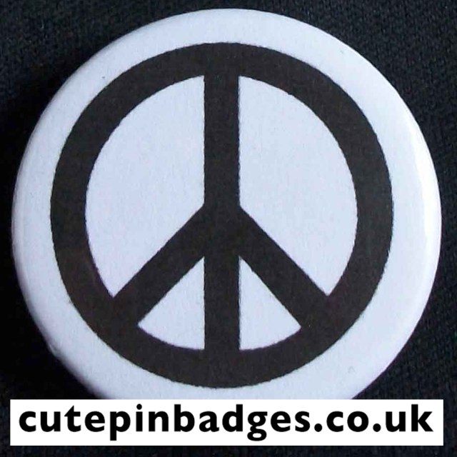 CND White Badge