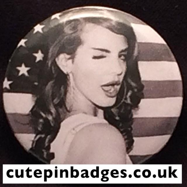 Lana Del Rey Badge