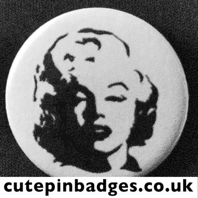 Marilyn Monroe Badge