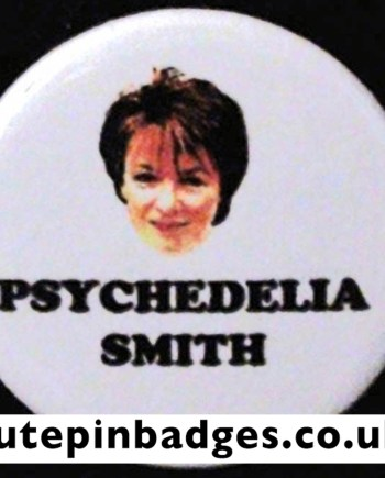 Psychedelia Smith Badge