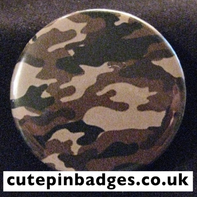 Sepia Bistre Camouflage Badge