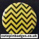 Twin Peaks Badge Black Lodge