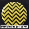 Twin Peaks Badge Black Lodge