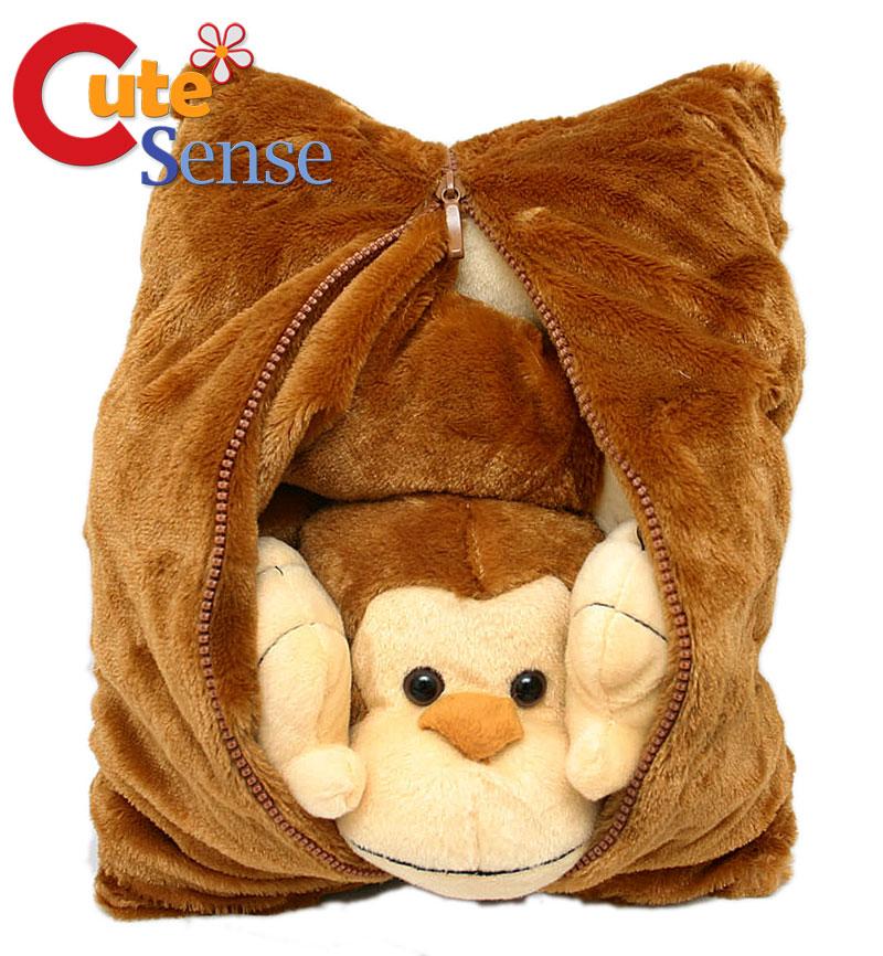 Monkey Transforming Pillow Cushion by Fiesta USA  eBay