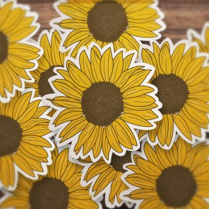 VSCO Sunflower Sticker