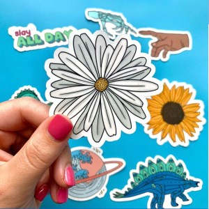 Cute Daisy Sticker